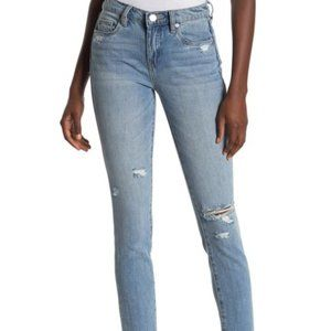 NWT Blank NYC classique skinny distressed jeans 27